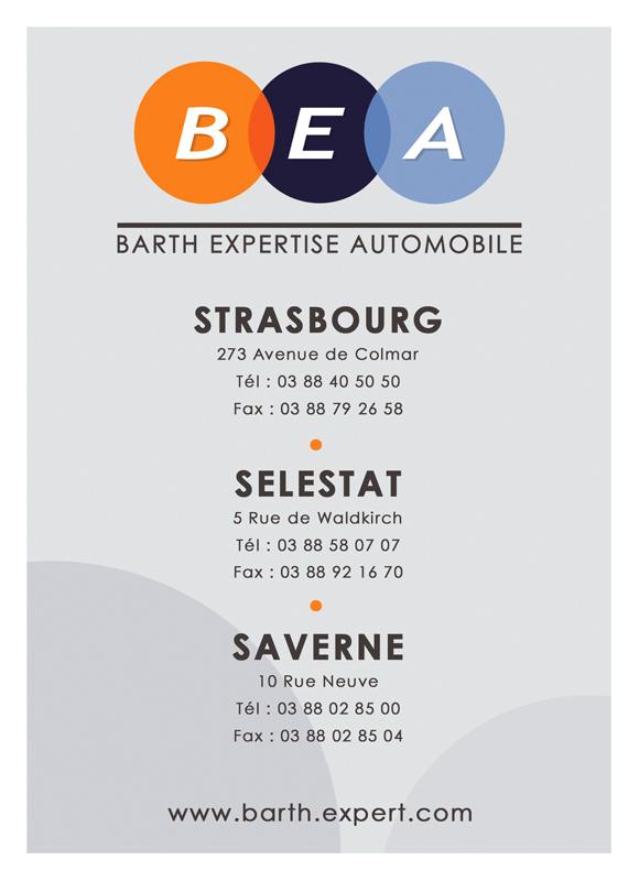 BEA - Identité Visuelle - Maquette